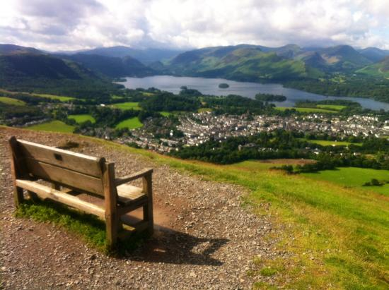 Lake View Guest House: Near summit of Latrigg