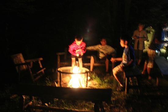 Domaine Ste-Agathe Resort : feu & guimauves