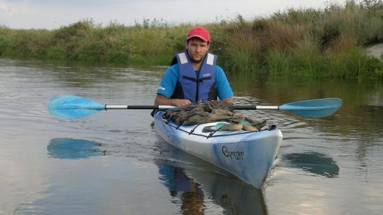 Kayaking on Liwiec