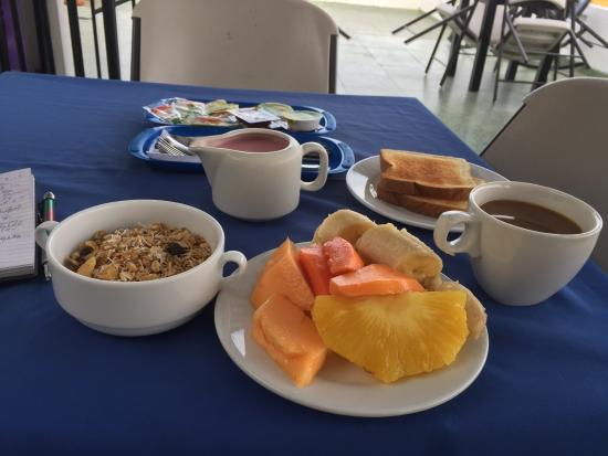 Casa Villa Colonial: My breakfast