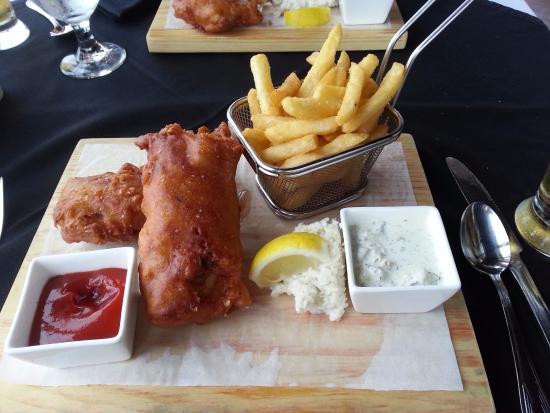 Pictou, Canadá: Best fish & chips EVER