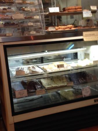 Kobuk Coffee Co: Fresh make donuts. fresh soup flavor changes daily.