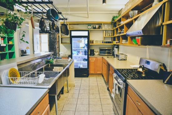 The Cleveland Hostel: Fully Equipped Kitchen for All to Share