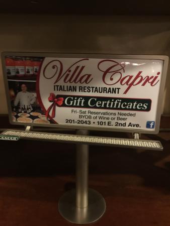Altoona, Pensilvania: Villa Capri