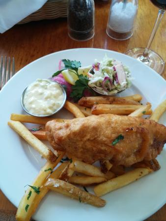 Walnut Creek Yacht Club: Fish & Chips Special for Lunch
