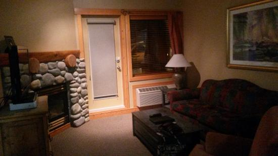 Fernie, Canadá: Cozy living area