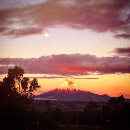 Ecuador: Cotopaxi at sunset