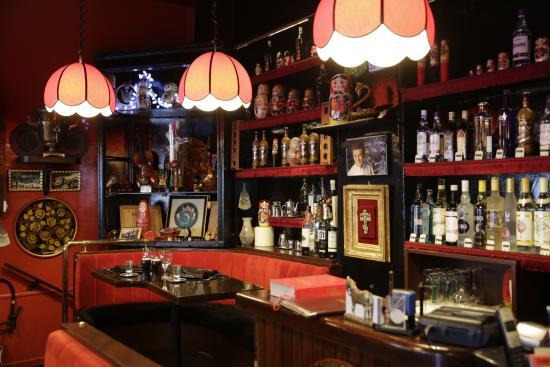 Rue Daru Restaurant Russe