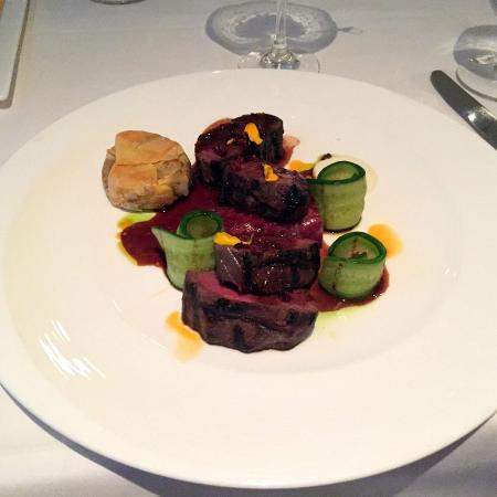 Le Papillon: The delicious lamb...