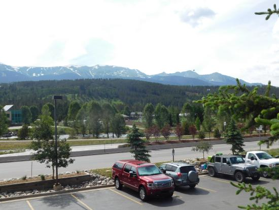 Breck Inn: From the balcony!