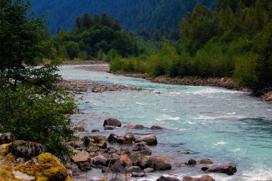 Cheakamus River: Chekamus river