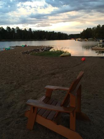 Pequot Lakes, MN: beach