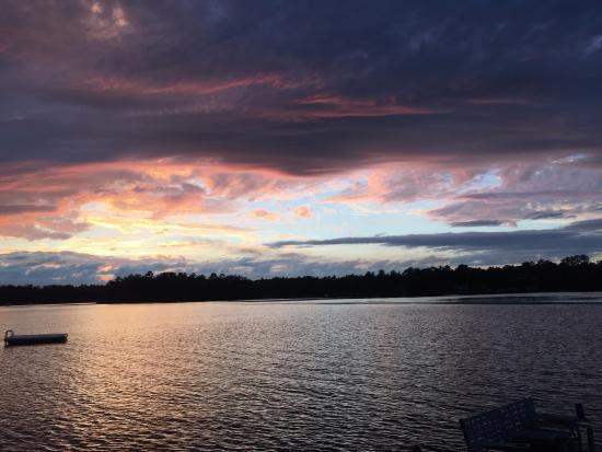 Pequot Lakes, MN: sunset