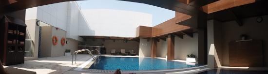 rooftop pool picture of hyatt place dubai baniyas square dubai rh tripadvisor com