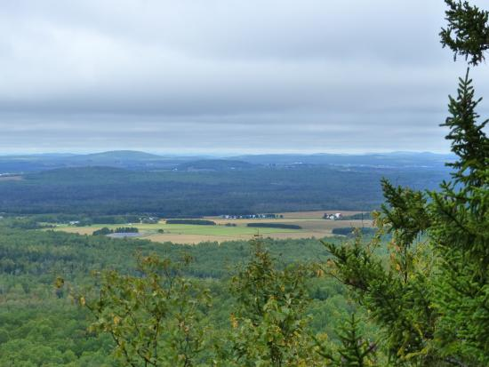 Hampton Inn Presque Isle: View from the top of North Peak, Aroostook State Park