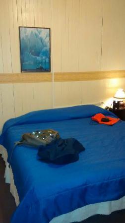 Hostal Dos Lagunas: La habitación