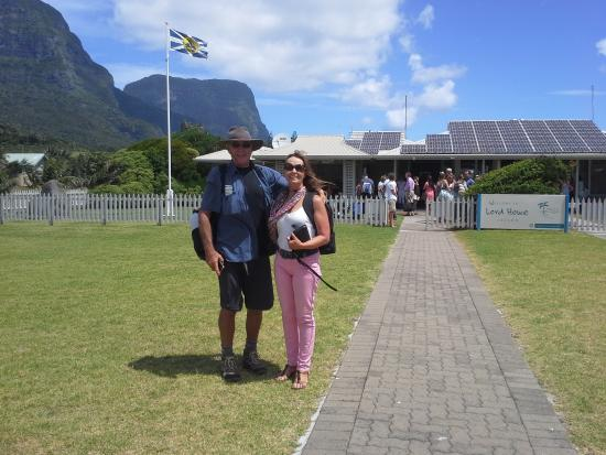 Arrival at LHI airport awaiting transfer to Blue Lagoon Lodge