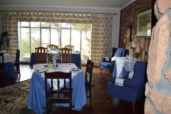 Cheetah Lodge: Breakfast area