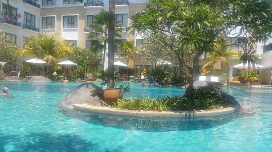Grand Inna Kuta: Beach wing pool