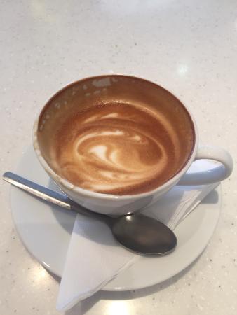 Kofteburger: The coffee is fantastic!