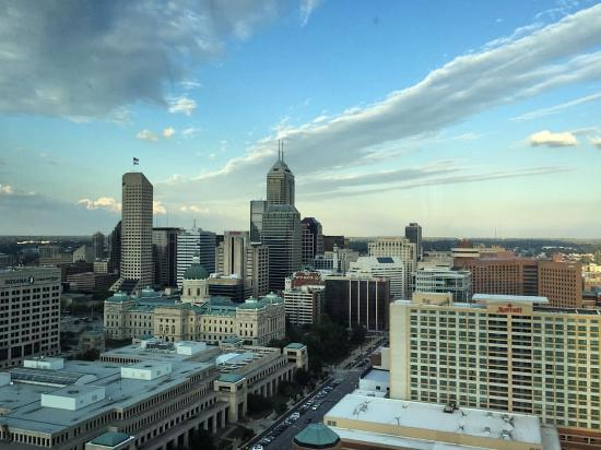 View of downtown Indianapolis