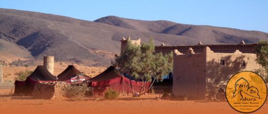 Auberge Hotel Porte De Sahara Ouzina : Auberge Tafraout, Hostel, Hotels In Mhamid, Morocco Auberge Kasbah Dar Sahara Toursmaroc morocco