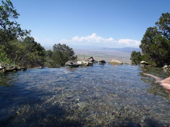 Villa Grove, CO: upper pool