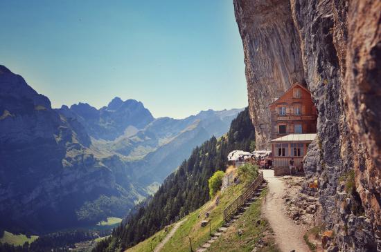 Berggasthaus Aescher Weissbad Switzerland Canton Of