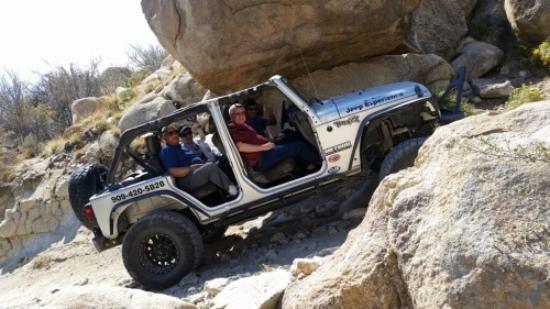 Jeep Big Bear >> Slanted Jeep Picture Of Big Bear Jeep Experience Big Bear