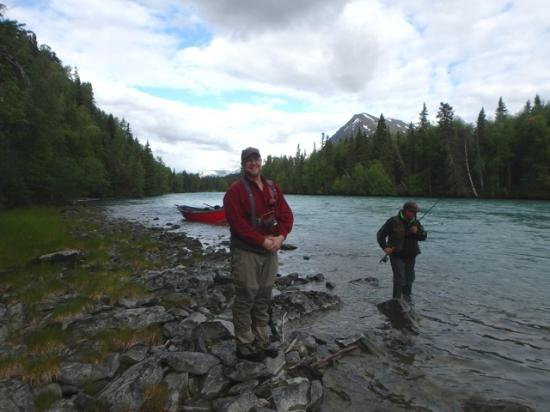 Gwin's Lodge and Restaurant: Fishing on the Kenai