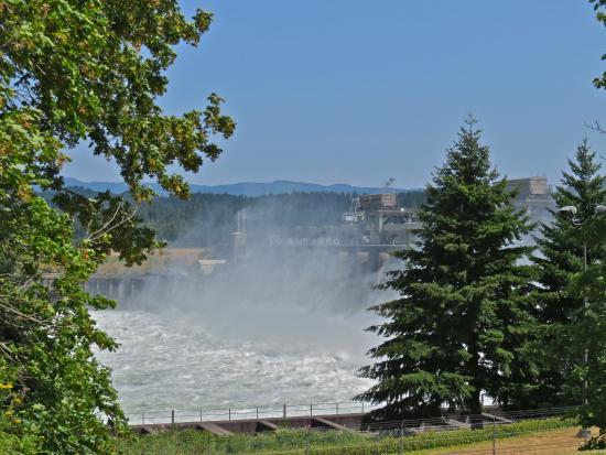 Hood River, Oregón: Bonneville Dam