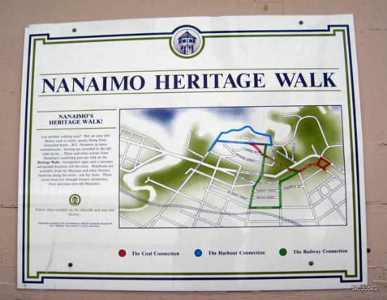 Nanaimo, Kanada: Map