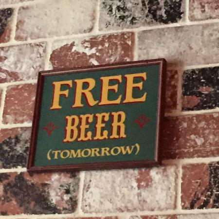 Tavern on Brand: Free beer (tomorrow)