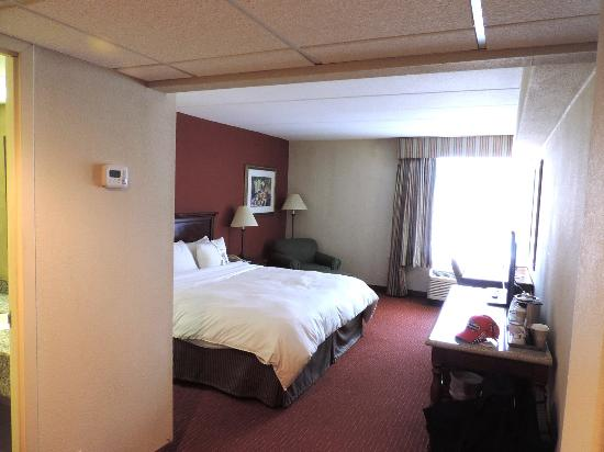 Clarion Hotel: I was not a big fan of the memory foam mattress
