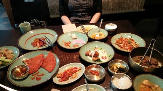 Sura Korean Cuisine Lunch Course We Ate A Half Already