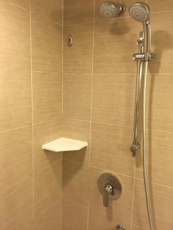 The stand shower - Picture of Holiday Inn Golden Mile Hong Kong ...