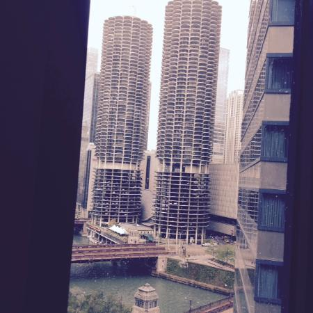 Another View From Room 1501 Picture Of Hilton Garden Inn Chicago Downtown Riverwalk Tripadvisor