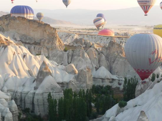 Hot Air Balloon ride in Cappadocia, Turkey. - Picture of ...