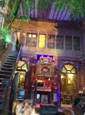 JHANKAR..Choti Haveli Restaurant : Night vision of Jhankar Choti Haveli Restaurant Jodhpur