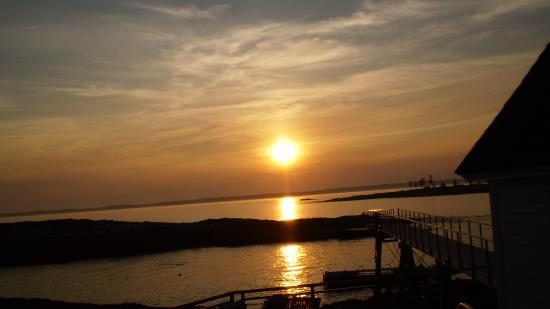 Southport Island, ME: Sunset view