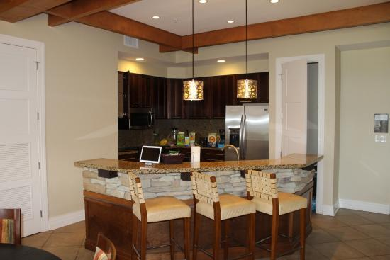 Kitchen Of Presidential Suite Picture Of Wyndham Vacation Resorts Great Smokies Lodge