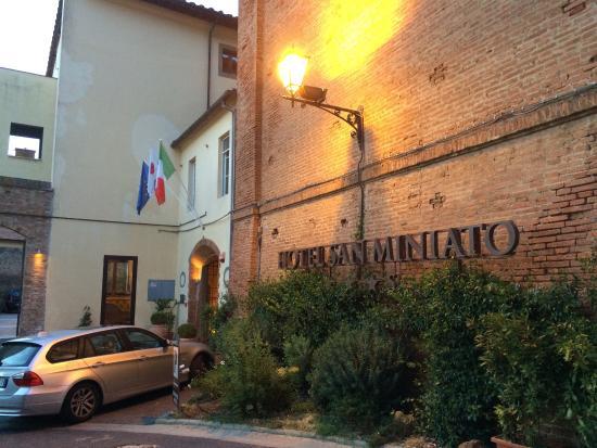 Hotel San Miniato: Ingresso hotel