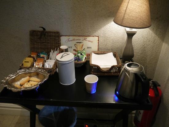 Hotell Slottsbacken: 24時間のコーヒーサービス