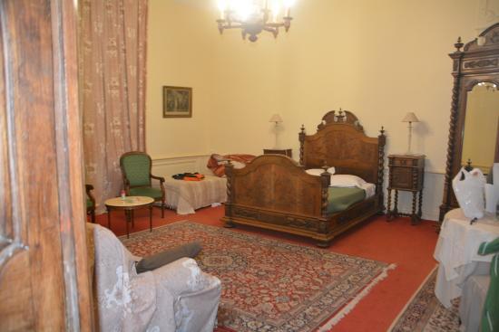 Manoir De La Riviere Bed and Breakfast: Hotel room