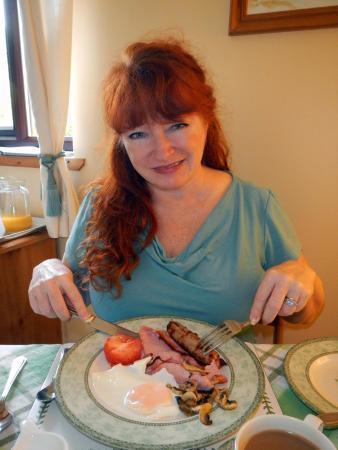 Uiginish, UK: Delicious full Scottish breakfast!