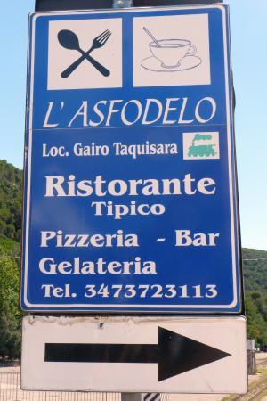 Province of Ogliastra, Italia: l'insega stradale