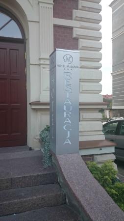 Hotel Masovia: Fasada