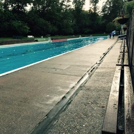 Jesus Green Outdoor Pool Cambridge England Omd Men