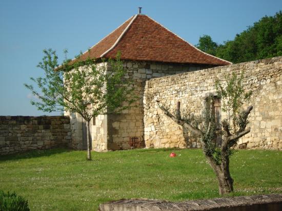 Cravant-les-Coteaux, Francia: jardin