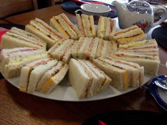 Hawarden, UK: A buffet service is available for your next party!
